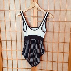 Tommy Hilfiger Navy Blue One Piece Bathing Suit